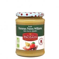 Puree Pommes & Poires Williams - 620g - Prosain