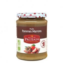 Purée Pomme & Crème de Marron - 620g - Prosain