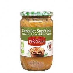 Cassoulet Supérieur au Canard & Saucisse - 680g - Prosain