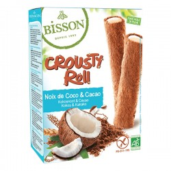 Crusty Roll Coco Choco - 125g - Bisson