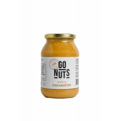 Beurre de Cacahuète Nature - 500g - Go nuts