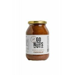Beurre de Cacahuètes Chocolat - 500g - Go Nuts
