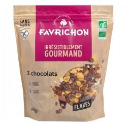 Flakes 3 Chocolats - 400g - Favrichon