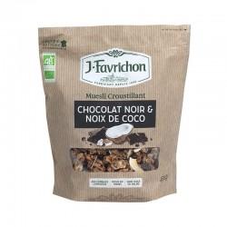Muesli Chocolat Noir & Coco - 450g - Favrichon