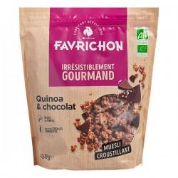 Muesli Quinoa & Chocolat - 450g - Favrichon