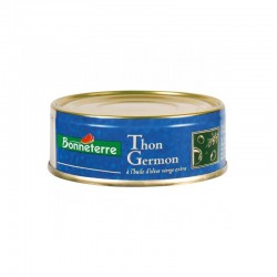 Thon Germon au naturel 139g -Bonneterre