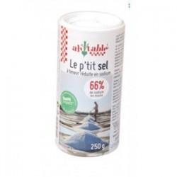P'tit Sel à Teneur Réduite en Sodium - 250 g - Ah Table