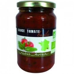 Sauce Tomate et Basilic 350g-Natur'Avenir
