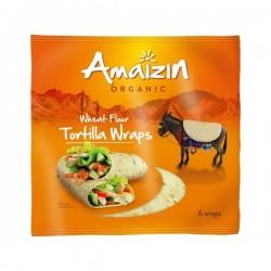 Tortillas de Blé x 6 - 240 g - Amaizin