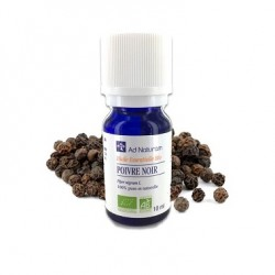 Huile Essentielle Poivre Noir - 10ml - Ad Naturam