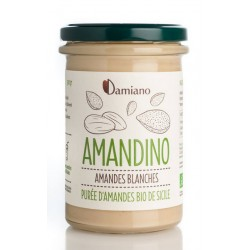 Purée d'Amandes Blanches 275g-Damiano