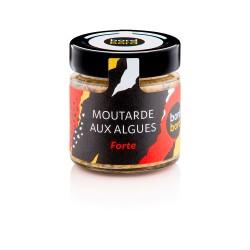 Moutarde aux Algues Forte - 140g - Bord à Bord