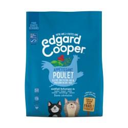 Croquettes Appétissant Poulet & Poisson Blanc - 1,75kg - Edgard Cooper
