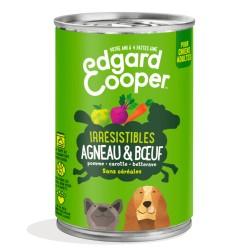 Boîte Chien Agneau & Boeuf - 400g - Edgard Cooper