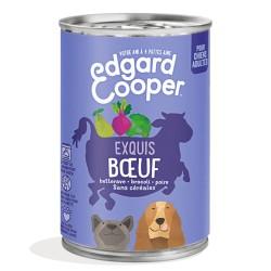 Boite Chien Boeuf - 400g - Edgard Cooper