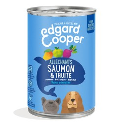 Boîte Chien Saumon & Truite - 400g - Edgard Cooper