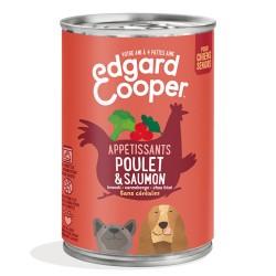 Boîte Chien Poulet & Saumon - 400g - Edgard Cooper