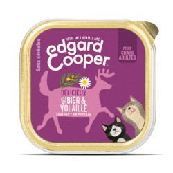 Cat Cup Gibier & Volaille - 85g - Edgard Cooper