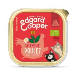 Cat Cup Poulet Bio - 85g - Edgard Cooper