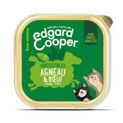 Cat Cup Boeuf & Agneau - 85g - Edgard Cooper