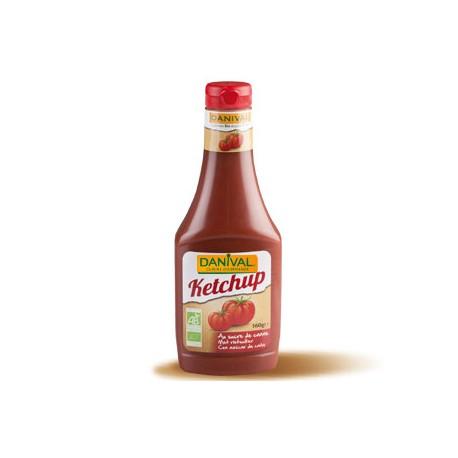 Ketchup au sucre de canne 560g-Danival