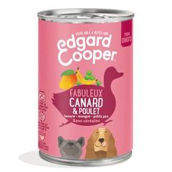 Boîte Chiot Canard & Poulet - 400g - Edgard Cooper