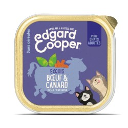 Cat Cup Boeuf & Canard - 85g - Edgard Cooper