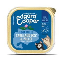 Cat Cup Poulet & Cabillaud - 85g - Edgard Cooper