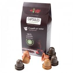 Capsules Compostables - 100 Unités - Ah Table