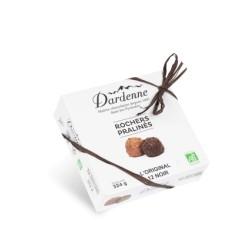 Rochers Pralinés L'Original Noir - 324 g - Dardenne