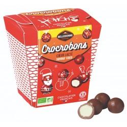 Crocrobons Coeur Lacté Saveur Coco - 160 g - Belledonne
