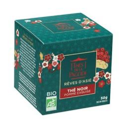 Thé Noir Pomme Exquise Rêves d'Asie - 50 g - Thés de la Pagode