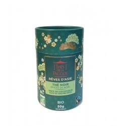 Thé Noir Epices de Noël Rêves d'Asie - Tube 50 g - Thés de la Pagode