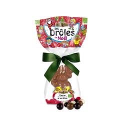 Renne en Chocolat au Lait - 100 g - Saveurs & Nature