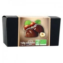 Escargots Praliné Noisette Chocolat Lait - 140 g - Saveurs & Nature