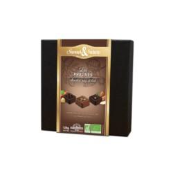 Les Pralinés - 16 Chocolats Fins 125 g - Saveurs & Nature