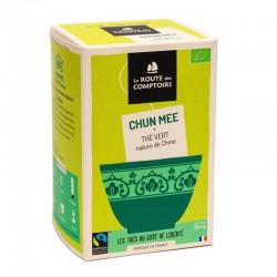 Thé Vert Chun Mee - 20 Infusettes - La Route Des Comptoirs