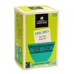 Thé Vert Earl Grey - 20 Infusettes - La Route Des Comptoirs
