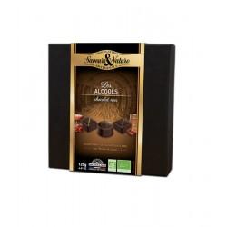 Les Alcools - 16 Chocolats Fins 125 g - Saveurs & Nature