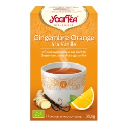 Gingembre Orange - 17 sachets - Yogi Tea