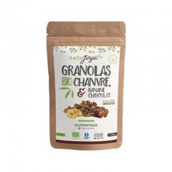 Granola Chanvre Banane Chocolat - 300g - Hello Joya