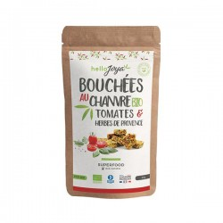 Bouchées Chanvre Tomate Herbes Provence - 50g - Hello Joya