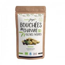Bouchées Chanvre Olive Noire - 50g - Hello Joya