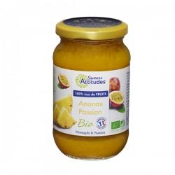 Préparation à l'Ananas et Fruit de la Passion 310g-Saveurs Attitudes