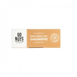 Barre Cacahuètes - 45g - Go Nuts