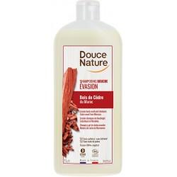 Shampooing Douche Evasion Bois de Cèdre - 1L - Douce Nature