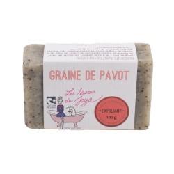 Savon Graine De Pavot - 100g - Les Savons de Joya