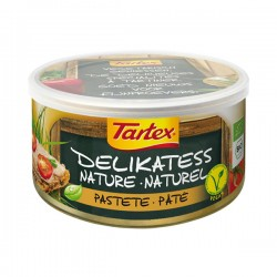 Pâté végétal Nature 125g-Tartex