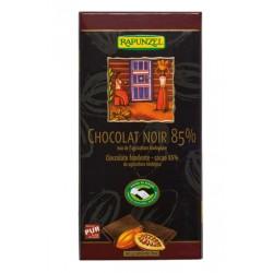 Chocolat noir 85% Végan - 80g - Rapunzel