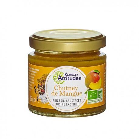 Chutney de Mangue 125g-Saveurs Attitudes